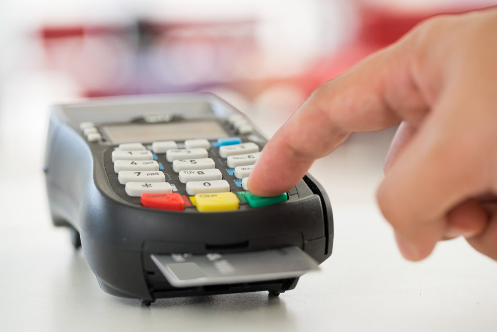 PCI DSS compliant credit card reader