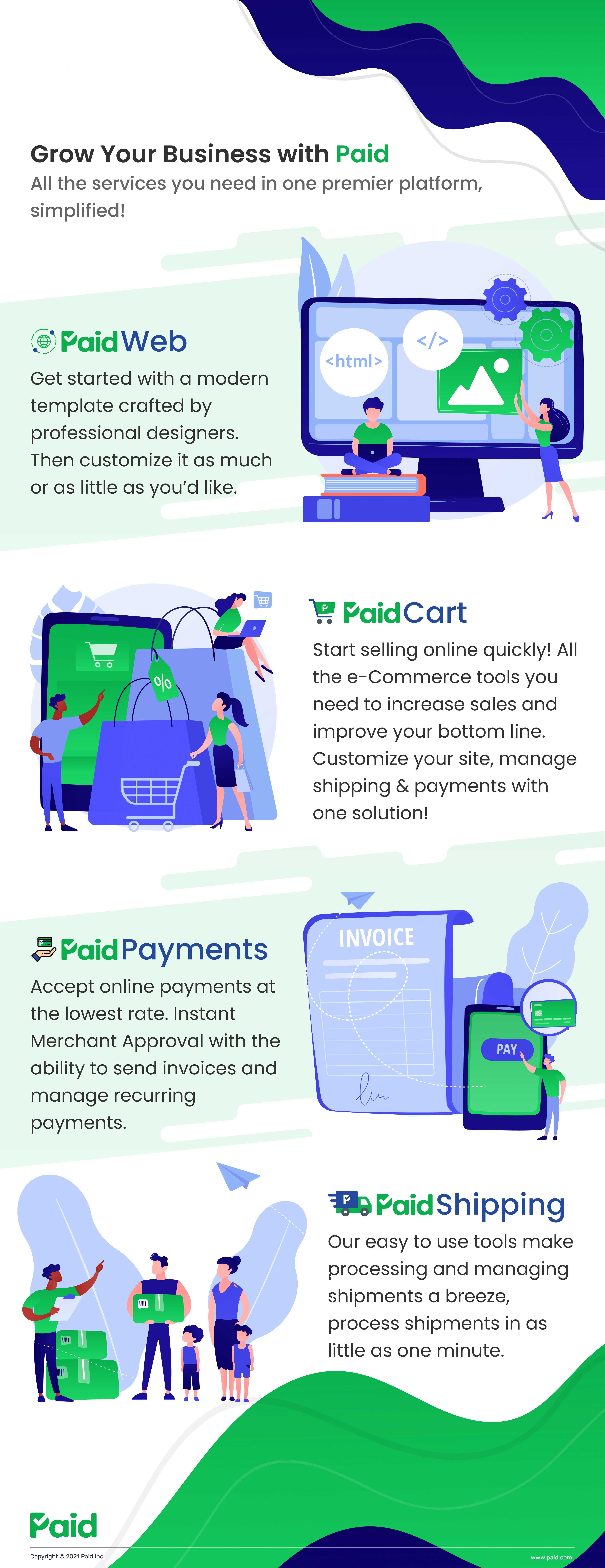 Paid Infographic